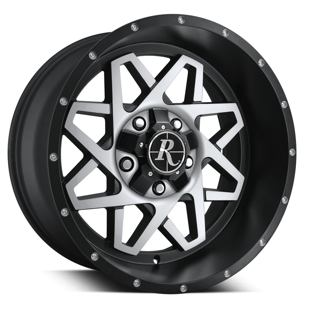 HD Off-Road Wheels Truck & SUV Wheels Remington® Off-Road Gridlock Wheels | Satin Black Machined