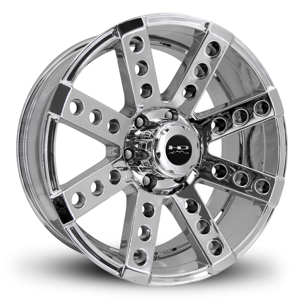 HD Off-Road Wheels Truck Wheels 20x9.0 | 6x139.7 | et0mm | 5.0 in | 106.2mm HD Off-Road Buckshot Wheels | PVD Chrome