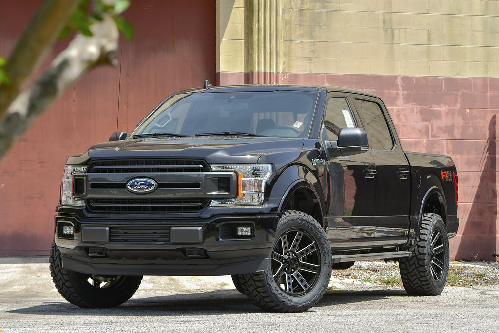 HD Off-Road Wheels Truck Wheels HD Off-Road Buckshot | Satin Black Milled