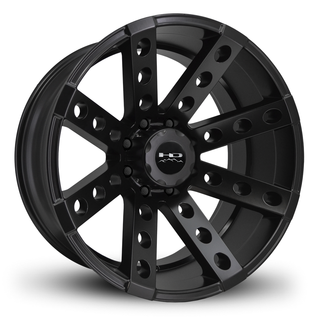 HD Off-Road Wheels Truck Wheels HD Off-Road Buckshot Wheels | All Satin Black