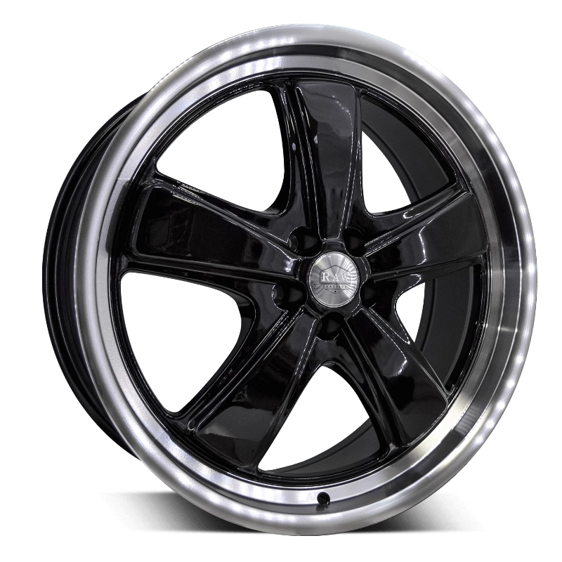 HD Wheels HD Classics P1 20 x 8.0 / 5 x 112 (et40mm) / Gloss Black Machined Lip HD Classics P1 - Closeout