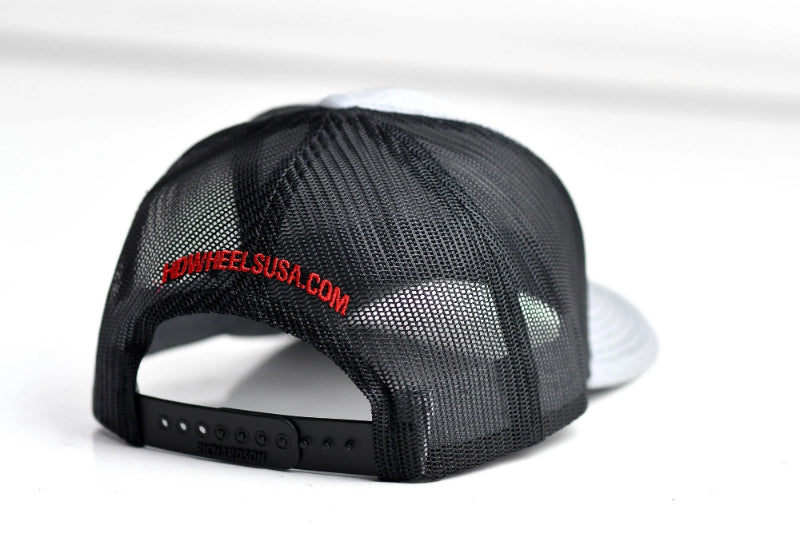 HD Wheels HD Wheels Apparel Official HD Wheels Snap-Back Hat - Heather Grey & Black