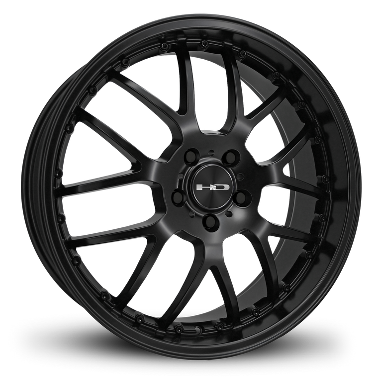 HD Wheels Passenger Car Wheels 18x7.5 | 5x114.3 | et35mm | 5.6 in | 73.1mm HD Wheels MSR | All Satin Black