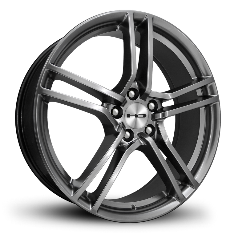 HD Wheels Passenger Car Wheels 18x7.5 | 5x114.3 | et38mm | 5.8 in | 73.1mm HD Wheels Vento | Hyper Black