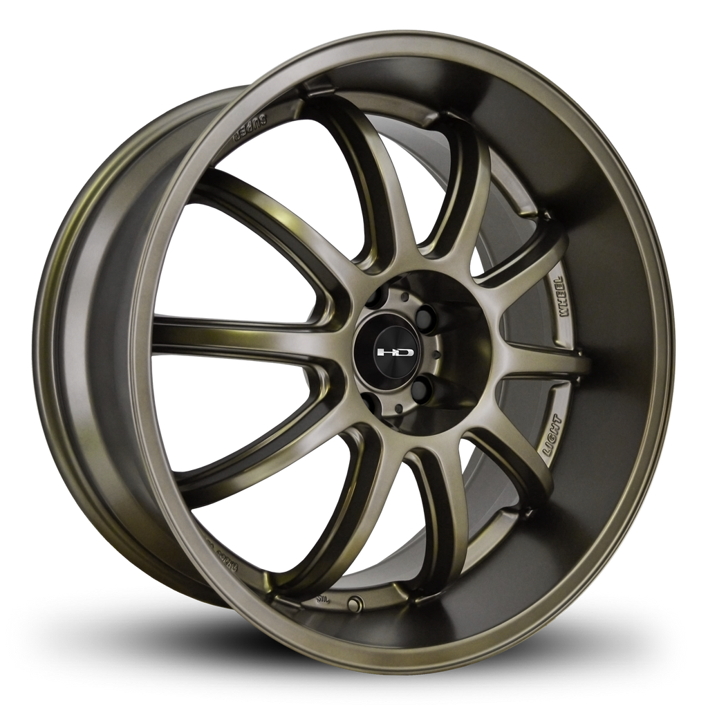 HD Wheels Passenger Car Wheels 20x10.0 | 5x114.3 | et25mm | 6.5 in | 73.1mm HD Wheels Clutch | All Satin Bronze