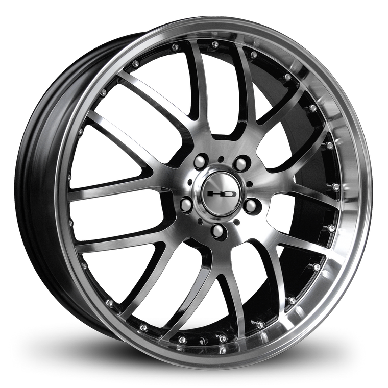 HD Wheels Passenger Car Wheels HD Wheels MSR | Gloss Black Machined Face