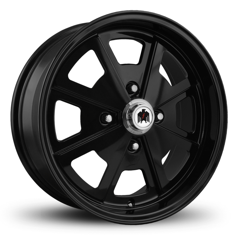 Klassik Rader Classic Car Wheels 17x7.0 | 4x130 | et40mm | 5.6 in | 80.9mm Klassik Rader Porsche 914 Wheels | All Gloss Black