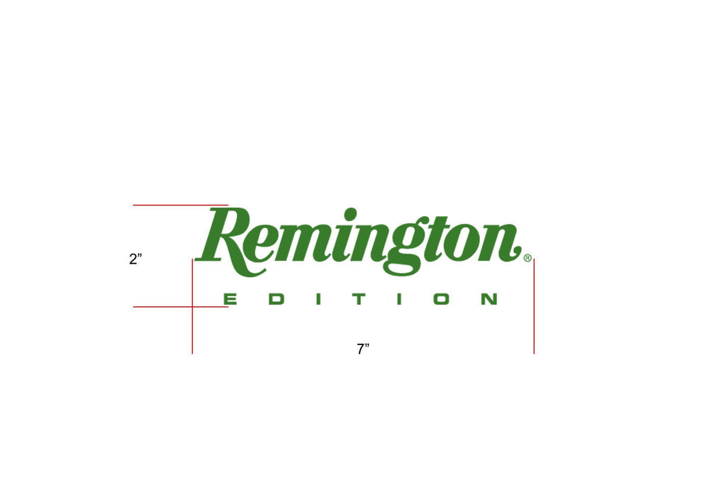 "Remington Off-Road Decal Kits ""Remington Edition"" for Truck & Jeep Remington Off-Road Die-Cut Decals - GREEN"