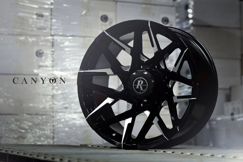 "Remington Off-Road Truck & SUV Wheels 20x9.0 | 6x135/6x139.7 | et0mm | 5.0 in | 106.2mm Remington Off-Road Wheels Canyon ""Battle Edition"" Wheels 