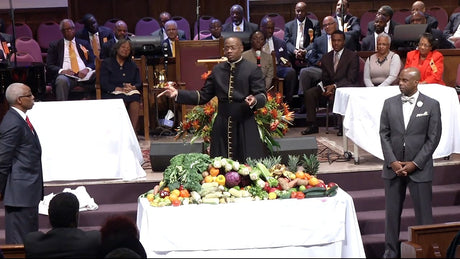He Prepareth a Table Before Me  | Rev. Dr. Marcus D. Cosby | 11/20/16
