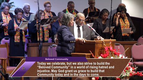 Rev. Dr. Martin Luther King, Jr. Day Service | Rev. Dr. Marcus D. Cosby | 01/15/18