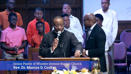 Faith and Finances (Part 2) | Rev. Dr. Marcus D. Cosby | 04/22/18