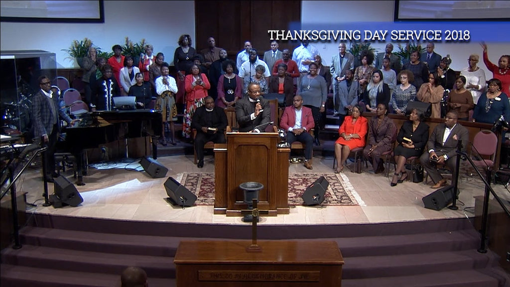 Thanksgiving Service | Rev. Dr. Marcus D. Cosby | 11/22/18
