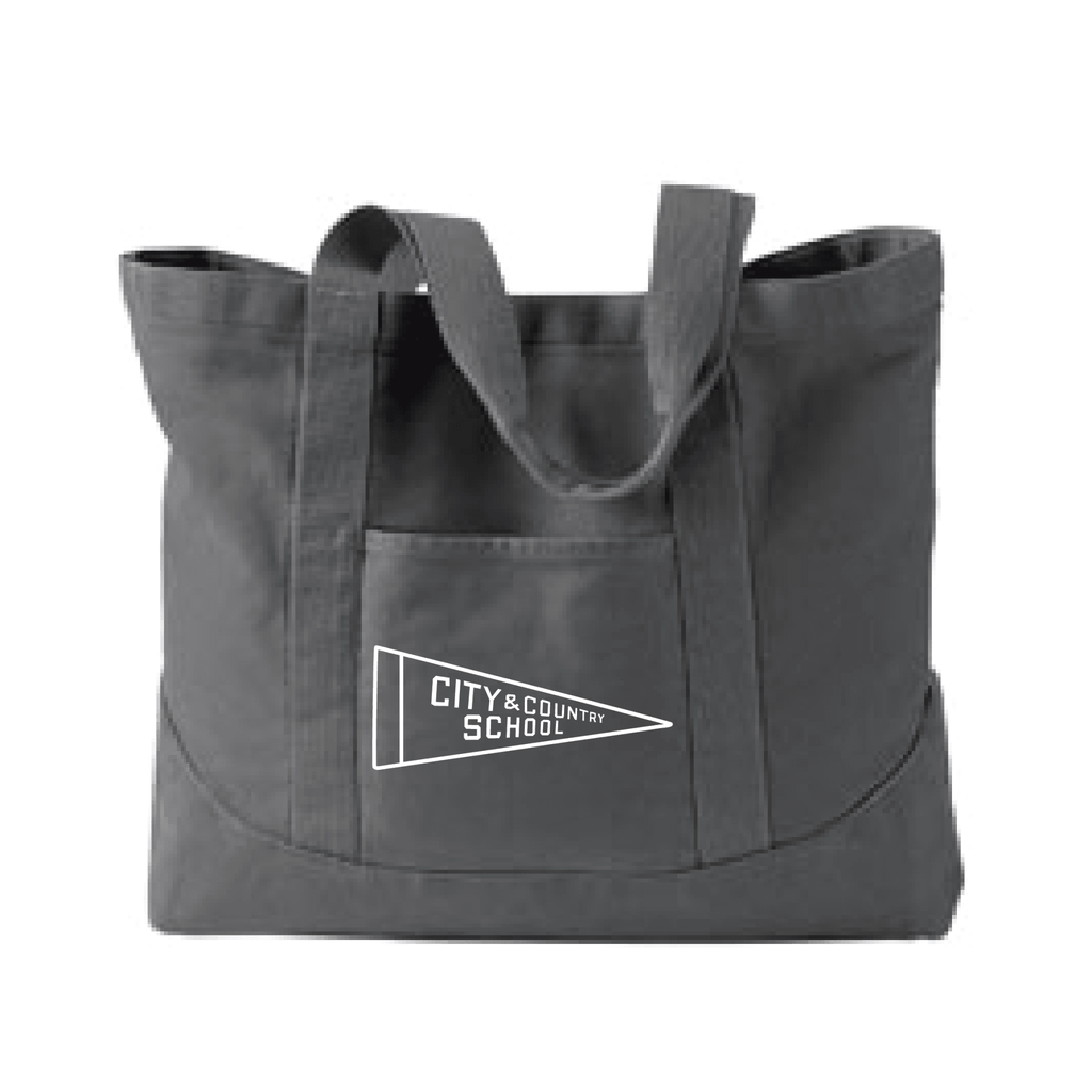 City & Country Canvas Tote - Splatter Clothing