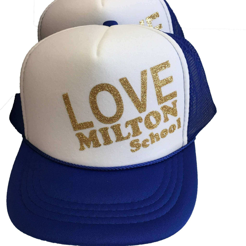 CUSTOMIZE SPLATTER 'LOVE' TRUCKER HAT - Splatter Clothing