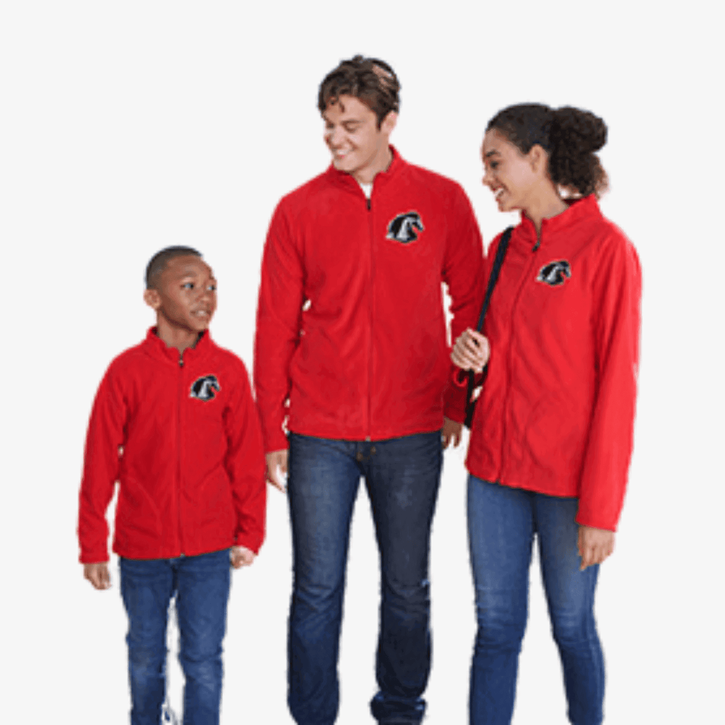 Team 365 Youth Campus Microfleece Jacket - Splatter Clothing