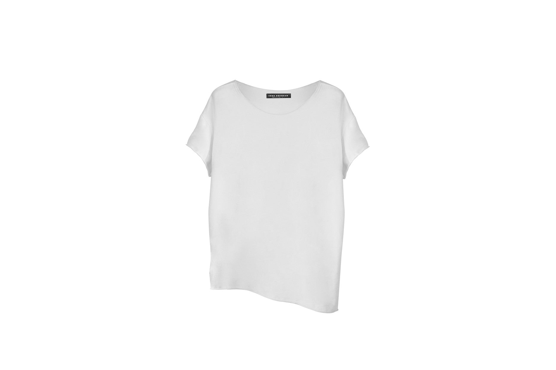 Raw Supima Tee / White