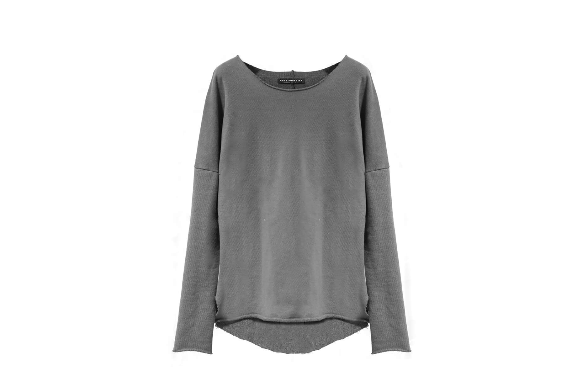 Drifter Long Sleeve Tee / Grey