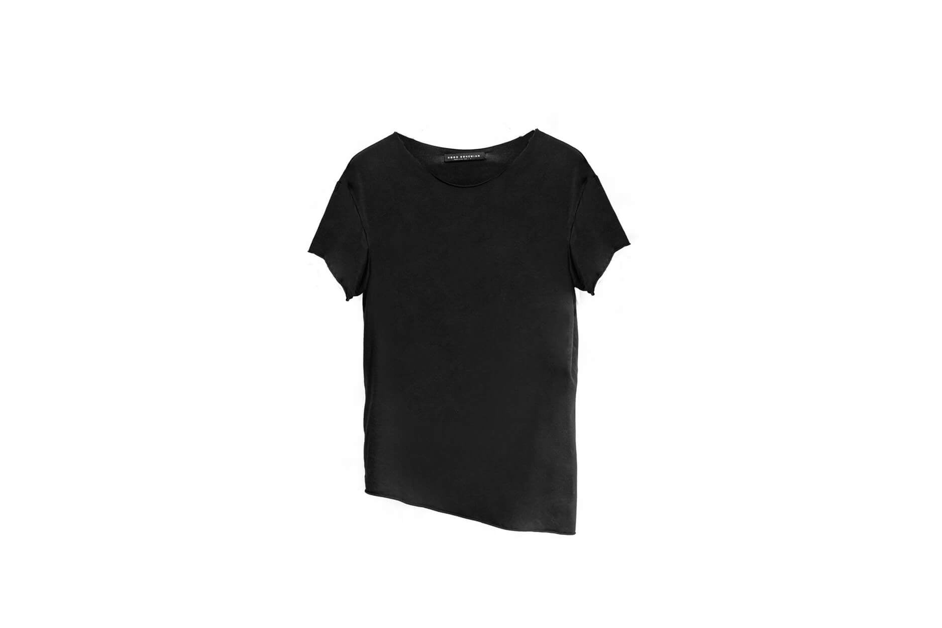 Raw Supima Tee / Black