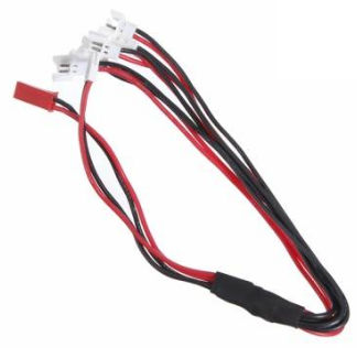 Walkera Hubsan X4 Eachine H8 1 to 5 Balance Charging Cable For 3.7V Battery