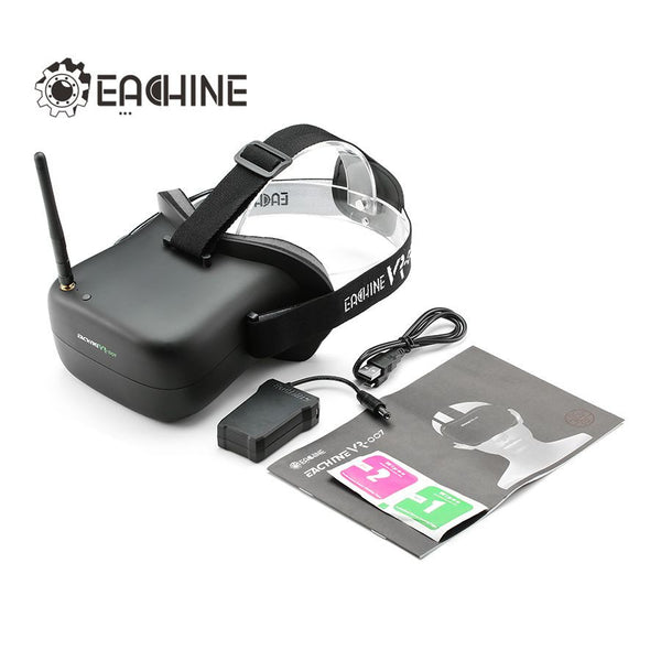 Eachine VR-007 5.8G 40CH HD FPV Goggles Video Glasses 4.3 Inch