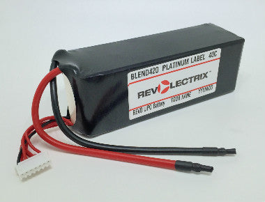Revolectrix 5200mAh 6S LiPO SPLIT PACK- 40C Platinum Label