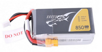 Tattu 14.8V 45C 4S1P 850mAh Lipo Battery Pack with XT30 Plug