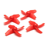 Eachine E010 /E010S Propellers For Inductrix/Tiny Whoop - Red