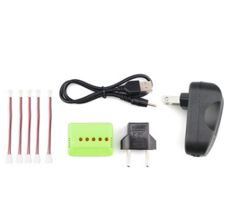 X5A-D 3.7V 1S 3A Upgrade Battery Charger Blade Inductrix Tiny Whoop