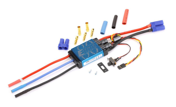 80-Amp Pro Switch-Mode BEC Brushless ESC, EC5 (V2)