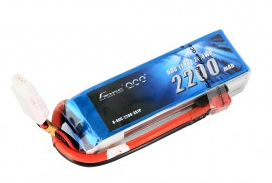 Gens ace 2200mAh 11.1V 60C 3S1P Lipo Battery Pack with Deans plug