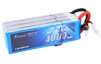 Gens ace 4000mAh 22.2V 60C 6S1P Lipo Battery Pack with EC5 plug