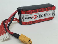 Revolectrix 1100mAh 4S LiPO -70C Silver Label GOPACKS - GrapheneOxide Edition
