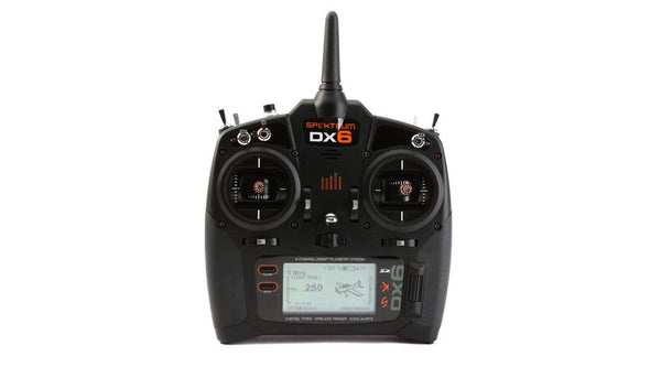 DX6 6-Channel DSMX Transmitter Only, Mode 2