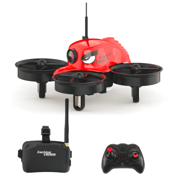 Eachine E013 Micro FPV Racing Quadcopter With 5.8G 1000TVL 40CH Camera VR006 VR-006 3 Inch Goggles