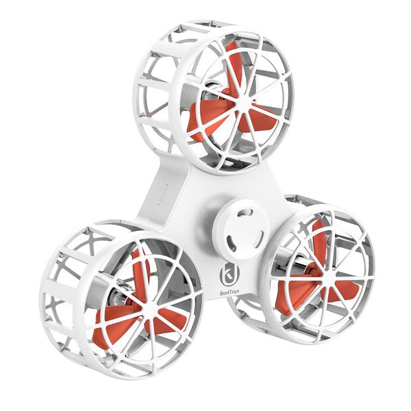 BoniToys Flying Fidget Spinner - White
