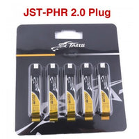 Tattu 220mAh 3.7V 45C 1S1P HV Lipo Battery Pack with JST-PHR 2.0 Plug (5pcs)