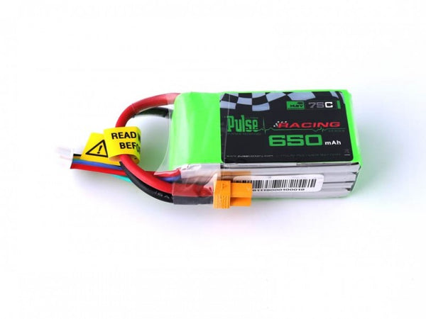 PULSE 650mAh 4S 14.8V 75C - LiPo Battery