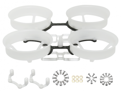 Rakonheli 2S Delrin Carbon 66mm Brushless Whoop Kit (for 0603, 0703 Motor)