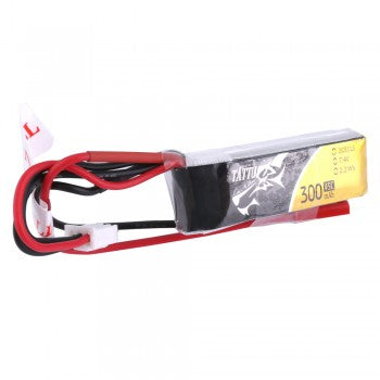 Tattu 300mAh 7.4V 45C 2S1P Lipo Battery Pack with JST-SYP plug