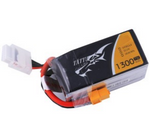 Tattu 1300mAh 75C 6S1P 22.2V lipo battery pack with XT60 plug