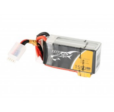 Tattu 1550mAh 45C 3S1P Lipo Battery Pack with XT60 plug