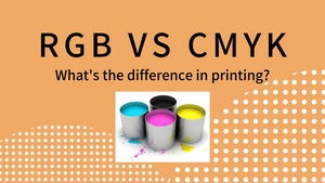 RGB vs CMYK: What's the Difference in Printing?