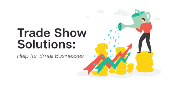 How to do a trade show as a small business: learning how to shop for trade show booths with a budget. Tips for small business trade show events