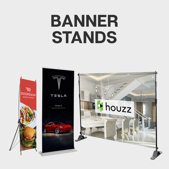 banner stands collection