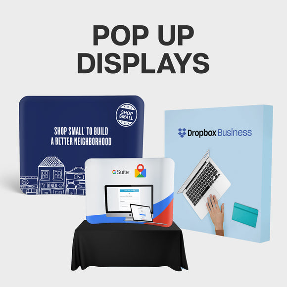 pop up displays collection