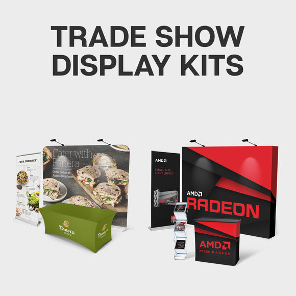 trade show display kit collection