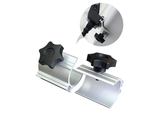 Pop up led attachment clamps