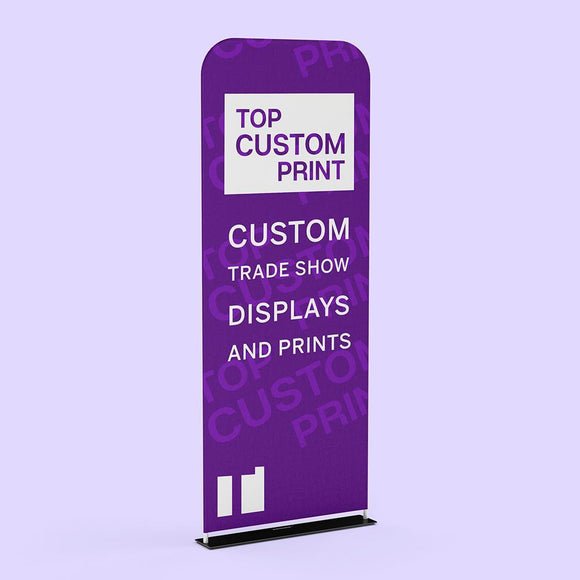 Tension Tube fabric banner stand for trade show