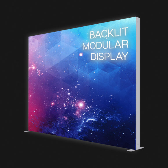 10ft backlit modular display